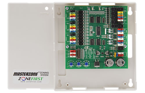 H32 – 2 or 3 Zone Heat Pump, Dual Fuel & Conventional Control Panel