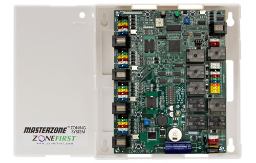 MZP4 – 2, 3 or 4 Zone All-In-One Control Panel
