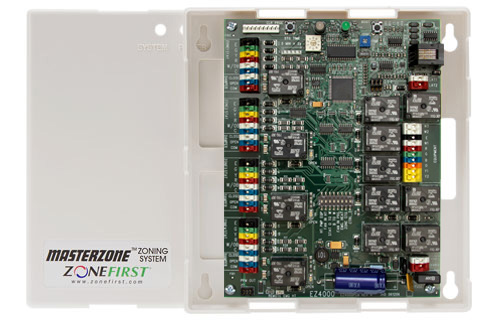 MZS4 – 4 Zone All-In-One Zone Control Panel