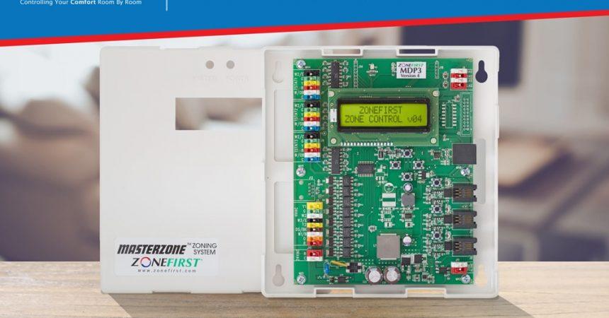 MDP3 V4 Zone Damper Control Panel